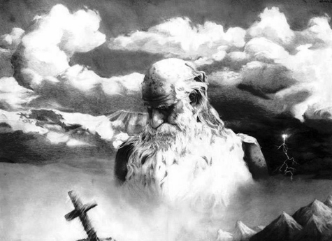 god_large image - Greyscale Converted 475 x 345