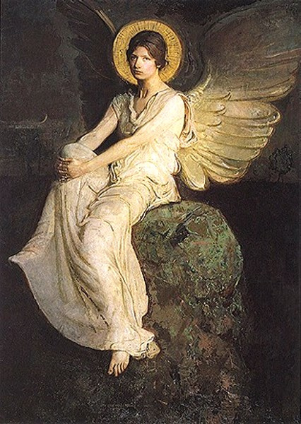 Angel at the Tomb