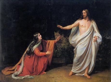 Mary-Magdalene-Jesus-at-the-Tomb-Alexander-Ivanov